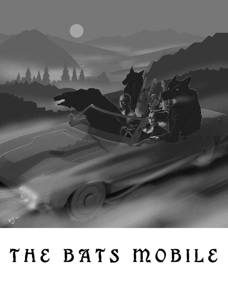 JPEG Bats Mobile