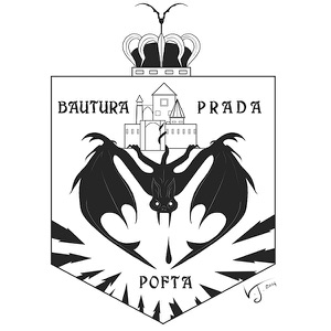 2. Final Bat Coat of Arms Flattened Print